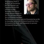 Розовите очила на душата - корица на индийското издание на книгата на Любомир розенщайн
