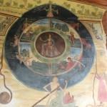 Колелото на живота в Преображенския манастир