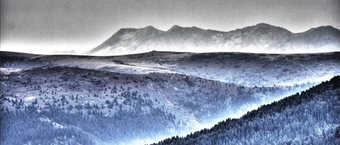 """Снимка от изложбата """"Рила. Живата планина"""" на Любомир Розенщайн"""